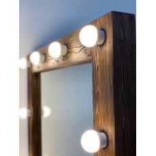 Каждому зеркалу из лиственницы- фактурная обработка в подарок!