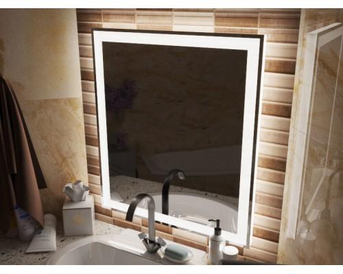 Зеркало в ванну с подсветкой Люмиро 75 см