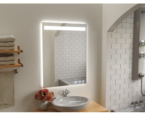 Зеркало в ванну комнату с подсветкой Капачо