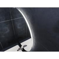 Зеркало в ванную комнату с подсветкой светодиодной лентой Виггон