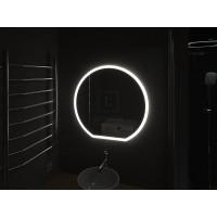 Зеркало в ванную комнату с подсветкой светодиодной лентой Виваро