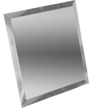 Квадратная зеркальная плитка серебро 300x300 мм