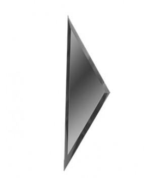 Зеркальная боковая плитка ромб графит 150х510 мм