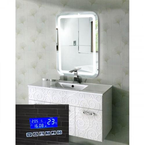 Зеркало в ванную комнату с подсветкой и радио Эстер