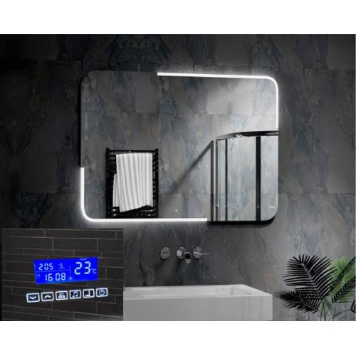 Зеркало в ванную комнату с подсветкой и радио Паркер