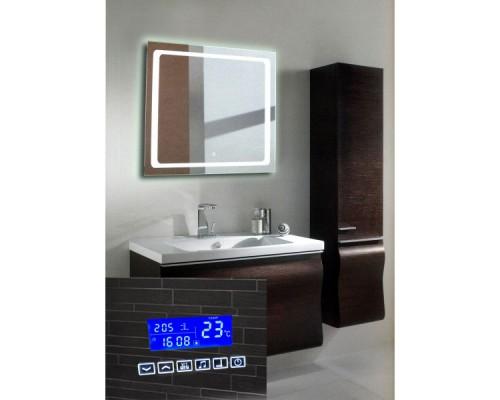 Зеркало с подсветкой и музыкой для ванной комнаты Катро