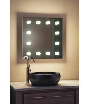 Зеркало для макияжа в ванную комнату ЗВ-Л-3