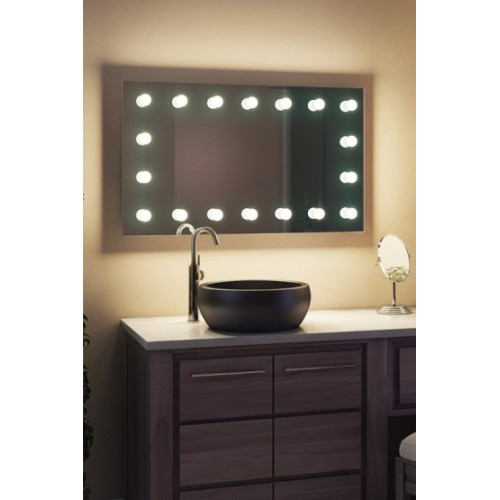 Зеркало для ванны с ЛЕД подсветкой ЗВ-Л-9