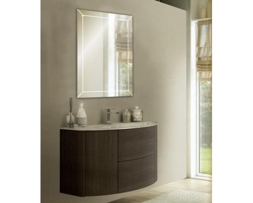 Зеркало с ЛЕД подсветкой в ванную комнату Айрис 135х45 см