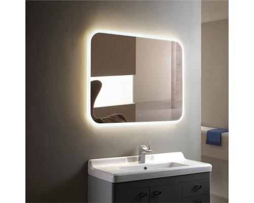Зеркало в ванную с подсветкой Баско 80х60