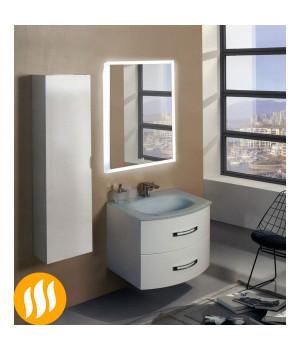 Зеркало в ванную с подсветкой и подогревом Моретто