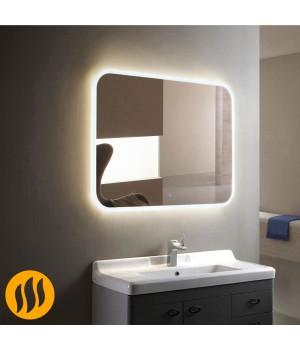 Зеркало в ванную комнату с подсветкой и подогревом Армани