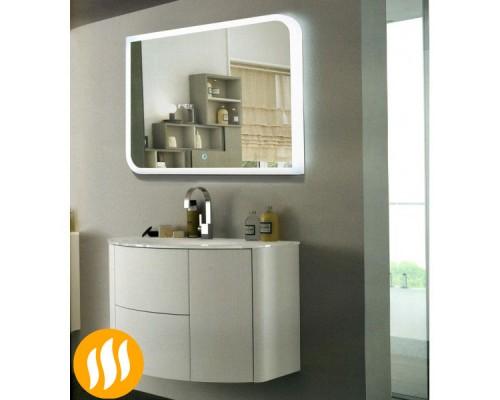 Зеркало в ванную комнату с подсветкой Элла 60х80 с подогревом