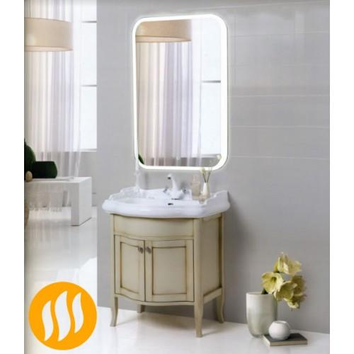 Зеркало в ванную комнату с подсветкой и подогревом Амелия