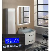 Зеркало в ванную с подсветкой и радио Моретто